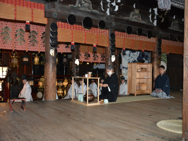 The Kencha-sai festival dates back to 1587.