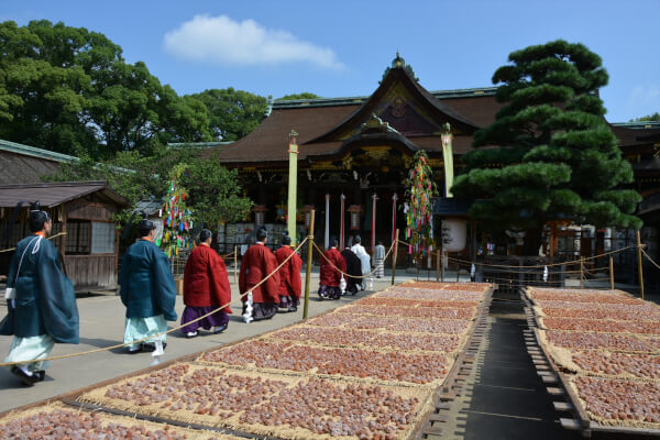 Kitano Festival, the main festival of Kitano Tenmangu Shrine.