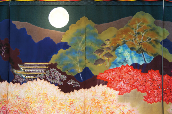 Kyoto in Autumn - Detail.