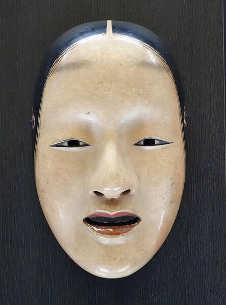 A Noh Mask of a young woman.